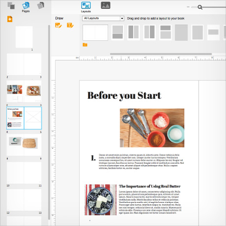 Blurb offers new tools for color book authors for Blurb indesign template