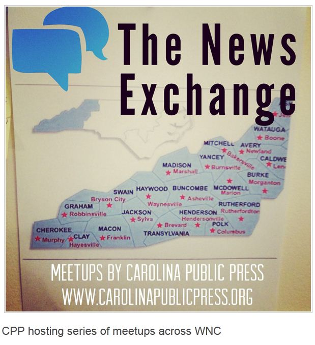 Carolina Public Press launched The News Exchange in May.