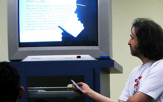 Video is used best as a compliment to textual analysis and professional instruction. Photo by Ricardo Mendonça Ferreira and used here with Creative Commons license.