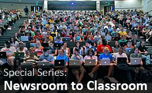 Newsroom to Classroom Series logo