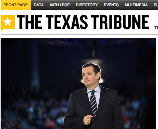 texas tribune screen grab