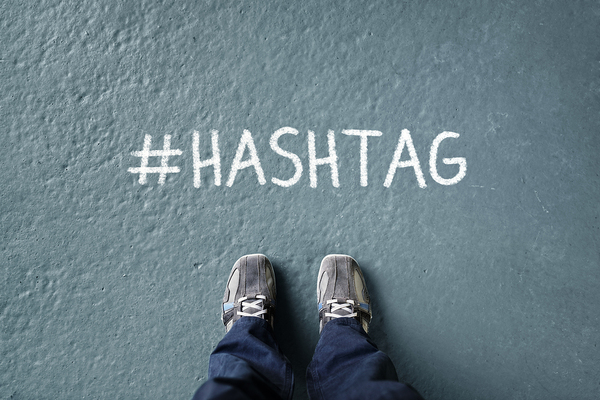 Hashtag text