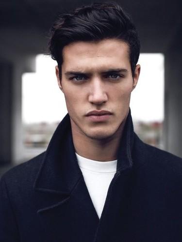 Male Model Black Hair : model, black, Models, Europe's, Leading, Model, Agency