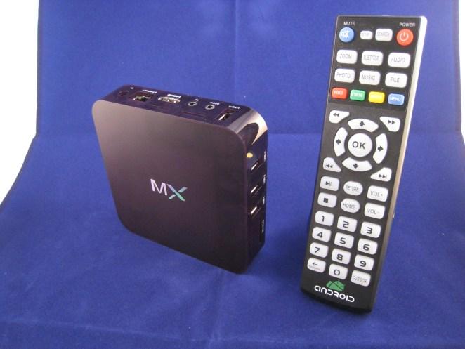 De Dual Core box met afstandsbediening