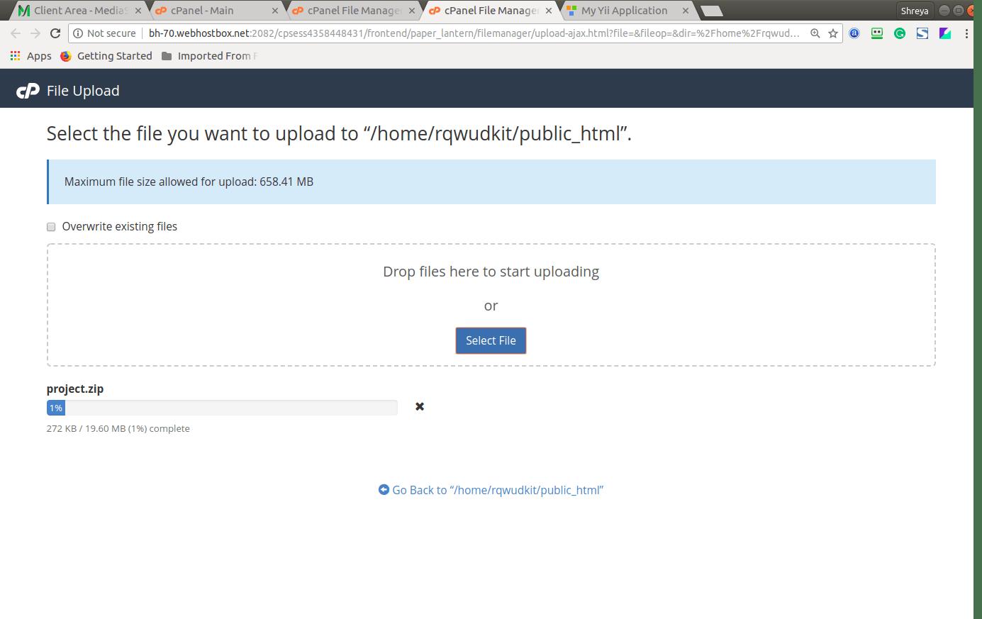Yii Web Log