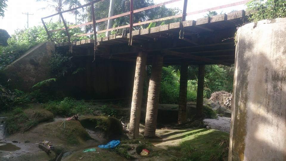 Jembatan Penghubung Antar Dusun Memprihatinkan