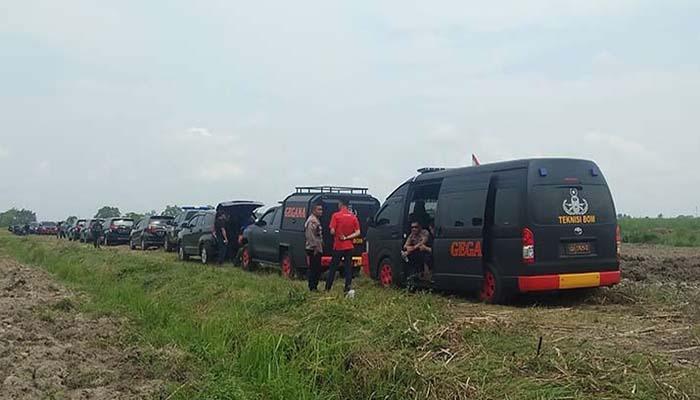 Poldasu Bersama Densus 88 Disposal Dua Bom Teroris di Medan