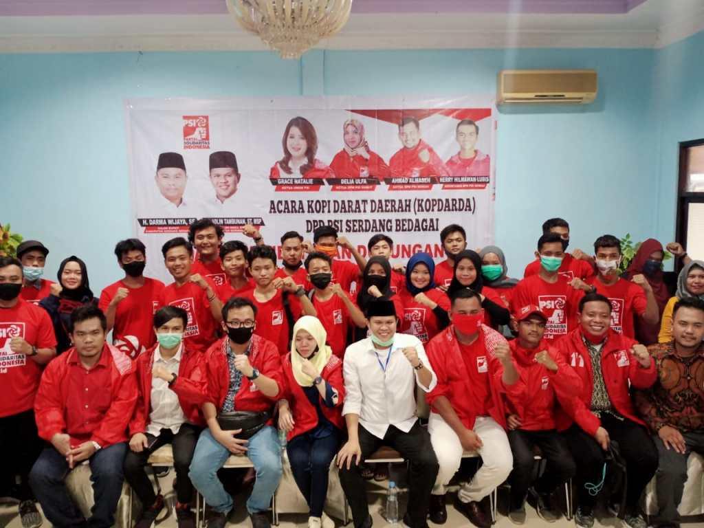 DPD PSI Sergai Resmi Dukung Darma Wijaya-Adlin Tambunan