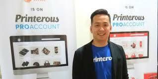CEO Printerous Berbagi Kiat Sukses Jadi Wirausahawan