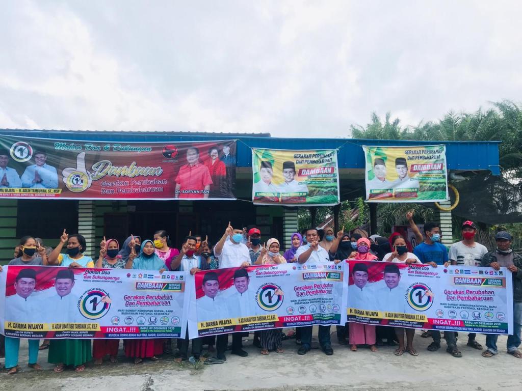 Warga Desa Pantai Cermin Kiri Keluhkan Kelangkaan Pupuk bersubsidi
