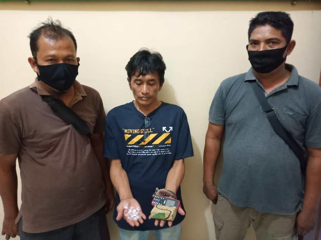 Pengedar Sabu Ditangkap, Barang Bukti 17 Paket Diamankan