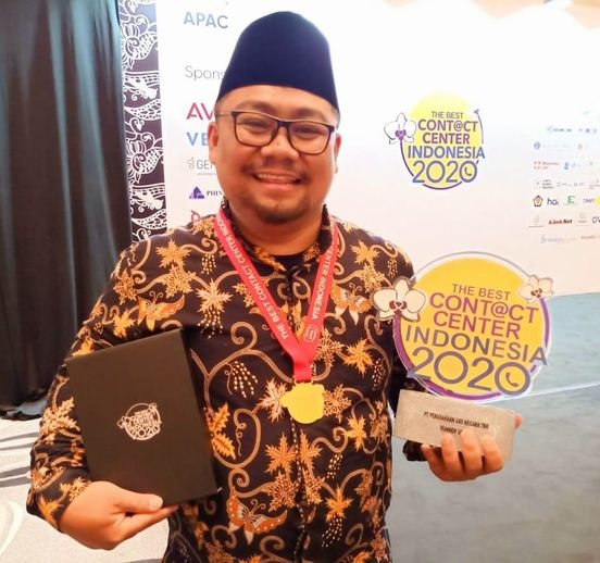 PGN Raih Runner Up 7 The Best Contact Center Indonesia 2020