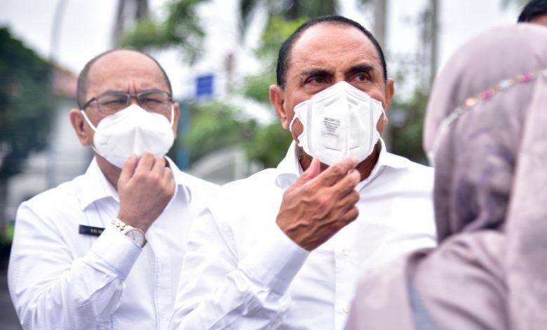 Kasus Konfirmasi Covid-19 Sumut Turun, Gubsu Ingatkan Masyarakat Tetap Patuhi Prokes
