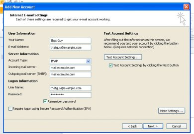 Setting Up Att Email In Outlook