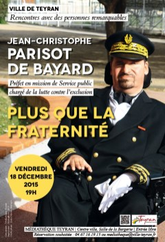 Jean-christophe Parisot De Bayard : jean-christophe, parisot, bayard, Jean-Christophe, PARISOT, BAYARD, Médiathèque, Municipale, Teyran