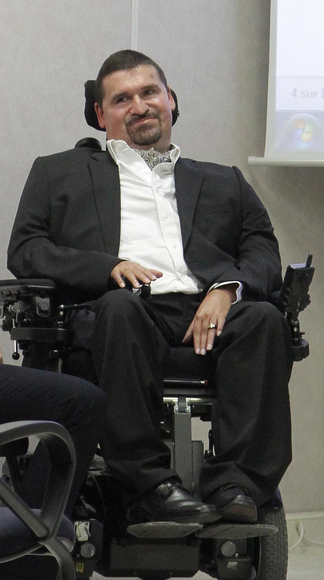 Jean-Christophe Parisot de Bayard, the first disabled