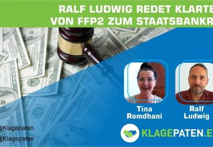 🔴 Ralf Ludwig redet Klartext:  Von FFP2 zum Staatsbankrott – Wohin führt die Pandemie? KPTV #30