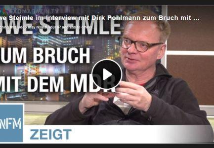 Uwe Steimle im Interview mit Dirk Pohlmann zum Bruch mit dem MDR