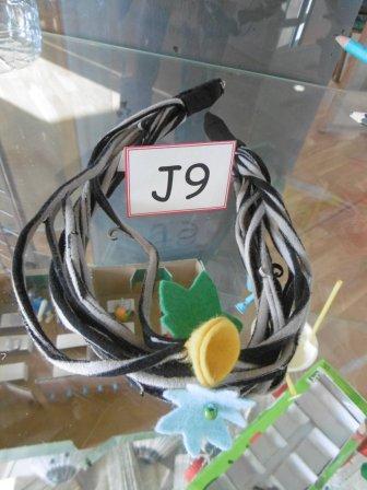 J9 : Collier en tissu d'Anouk