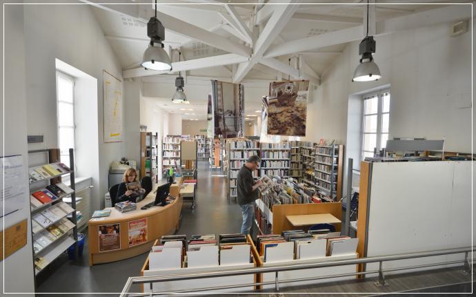 Bibliothque Franois Mitterrand DAmbars Et Lagrave