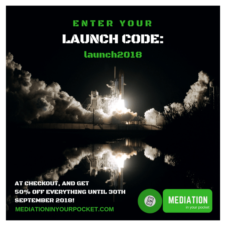 mediation in your pocket launch sale