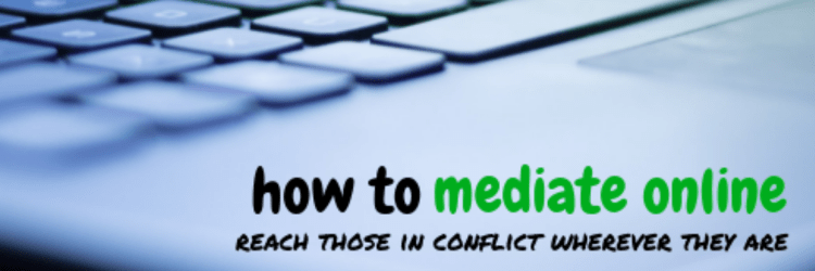 how to mediate online course