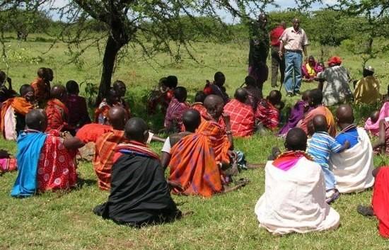 KT 7 Samburu Committee Meeting