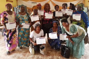 Training Graduates of Building Unity for 2018 Peaceful Elections