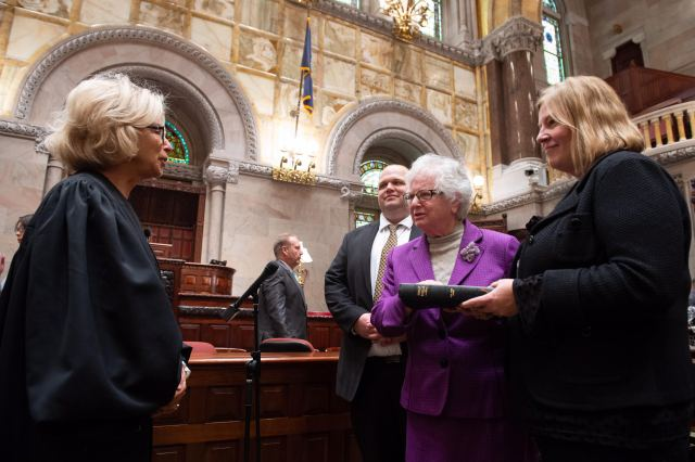 Senator Stavisky Takes Oath, Begins 11th Term in Albany