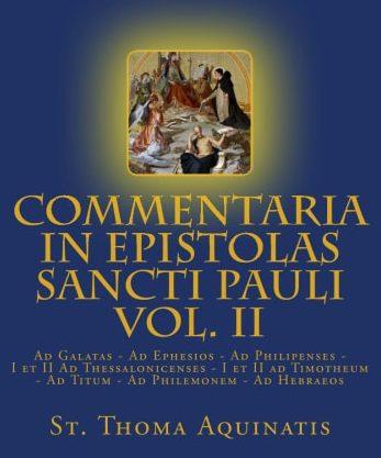Commentaria in Epistolis Sancti Pauli volume1