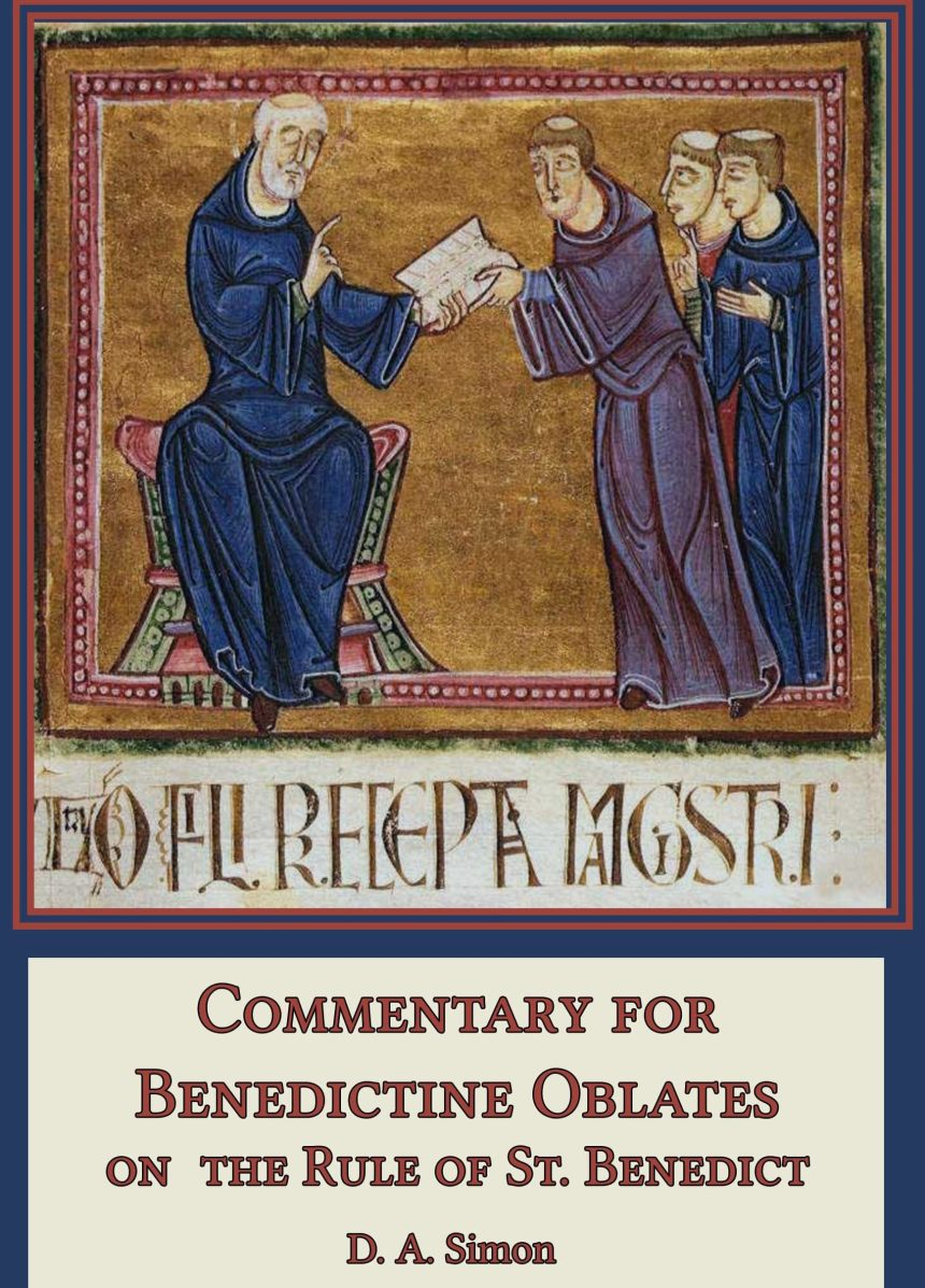Commentary for Oblates - Hardcover