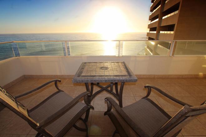 Oceanfront Condo in Calafia, Rosarito Beach
