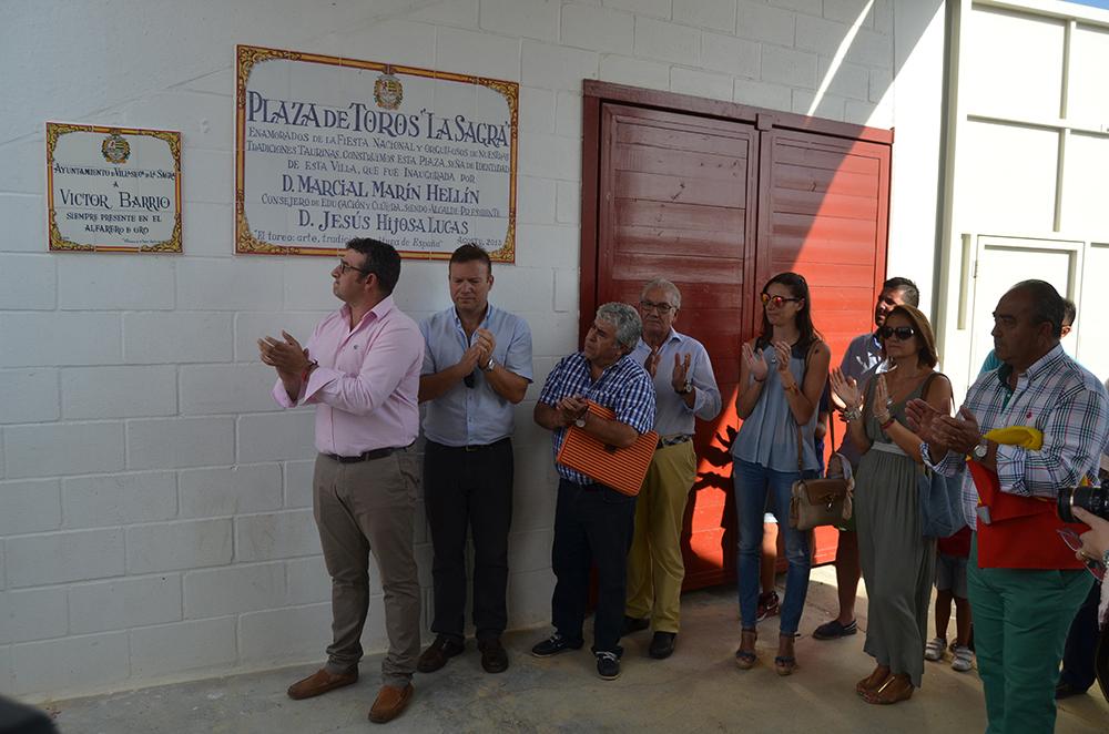 Homenaje a Victor Barrio en Villaseca de la Sagra 2016