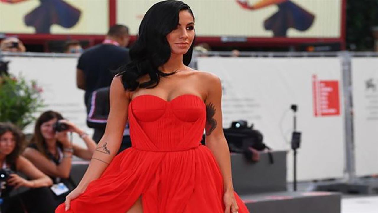Giulia De Lellis a Venezia Io come Angelina Jolie