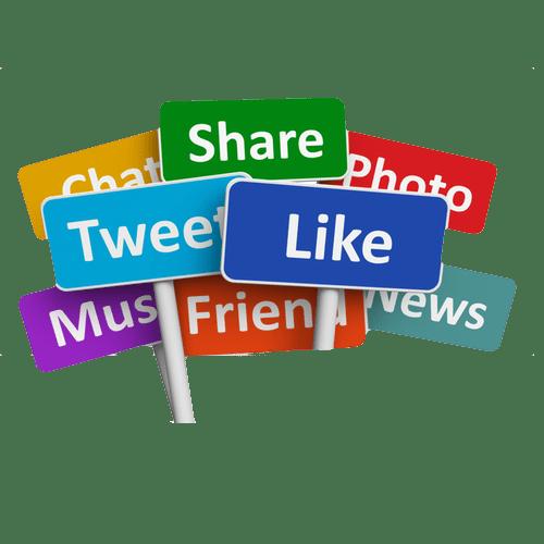 500x500 social media signs