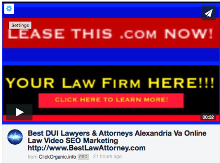 DUI best attorneys and the best SEO lawyers and online video marketing for law firms