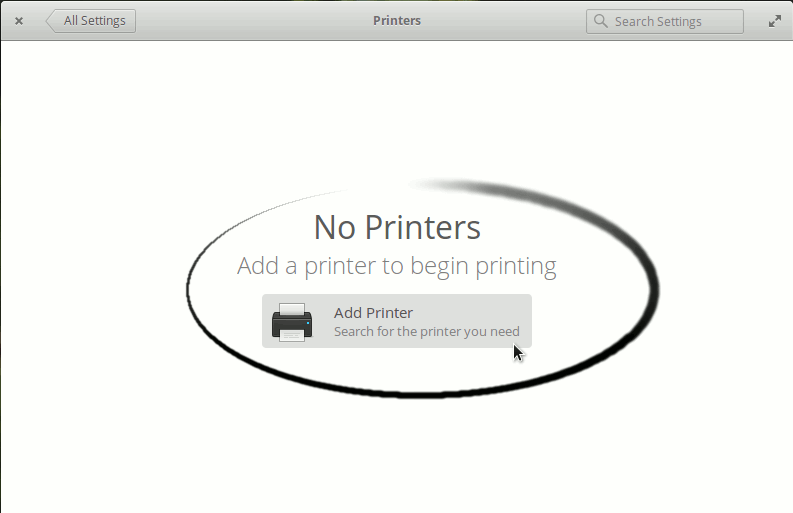 Linux Elementary OS Add Canon Printer Easy Guide