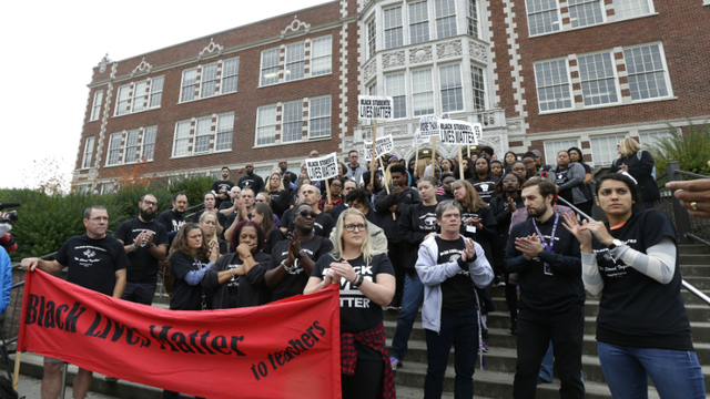 Image result for black lives matter at school