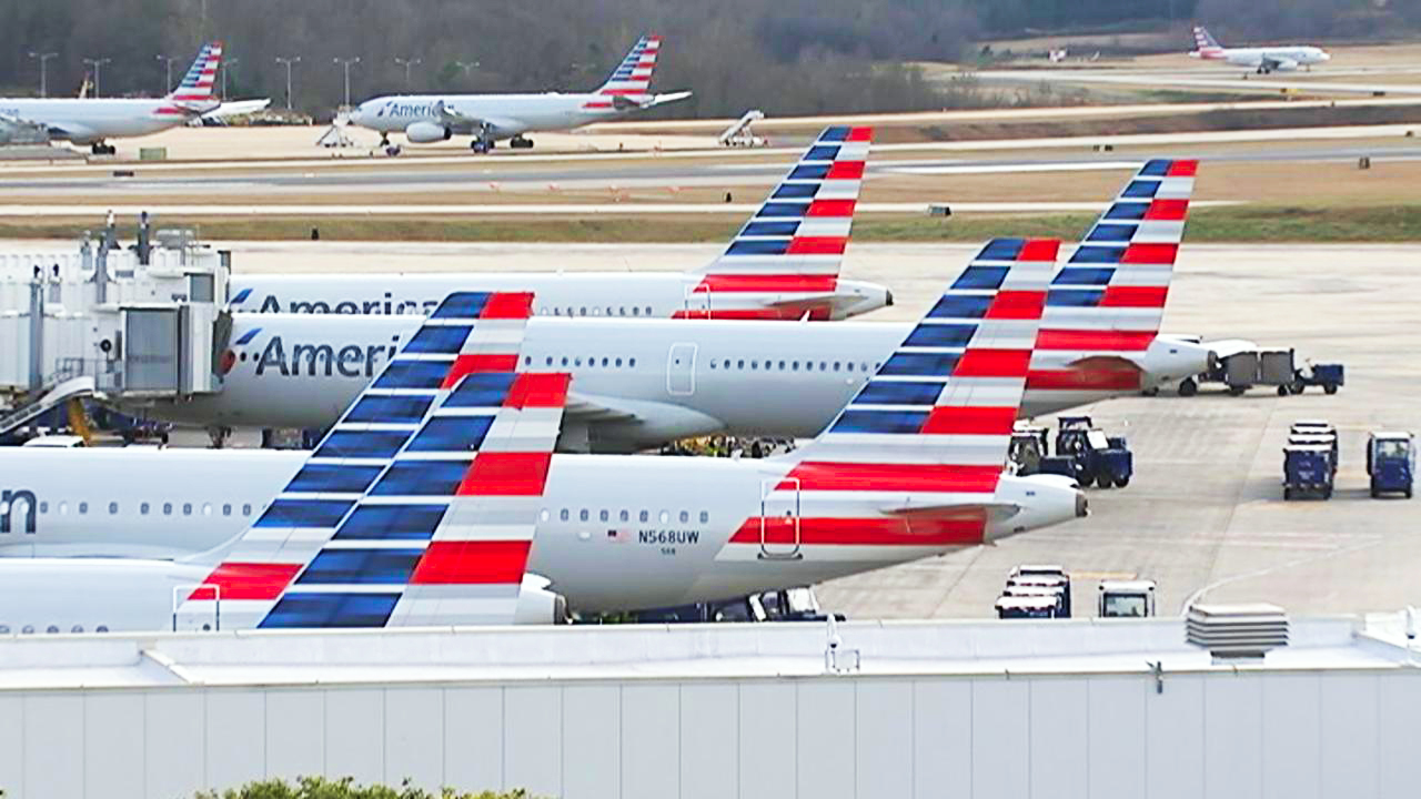american airlines four percent