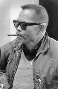 Larry Itliong. Photo by Bob Fitch Photo Archive © Stanford University Libraries