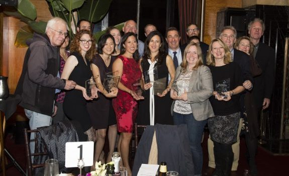 SPJ Excellence in Journalism awardees from 2015. Photo courtesy SPJ NorCal.