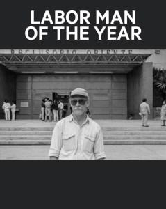 David Bacon, Labor Man of the Year