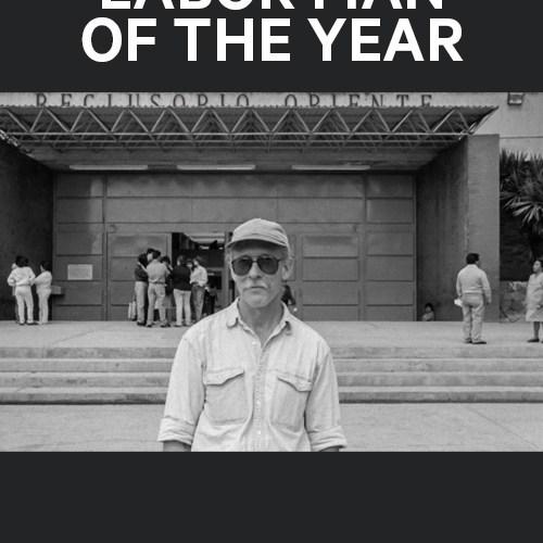 David Bacon receives Labor Man of the Year Award