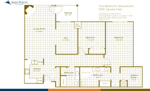 Floor Plan illustration Bozeman Montana