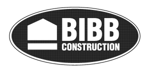 bibb construction logo design