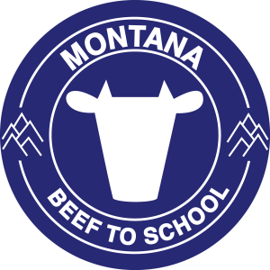 montana Beef to school logo design