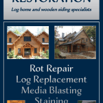 Hihg Country Restoration Rack Card Design for Big Sky Chamber of Commerce Display