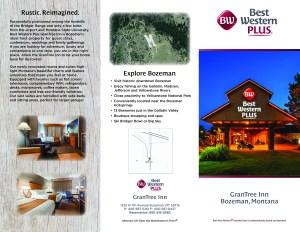 tri-fold brochure graphic design bozeman mt