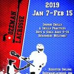 lacrosse poster design for bozeman lacrosse organization
