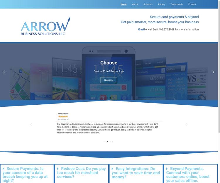 Custon-wordpress-website-design-for-three-forks-small-business